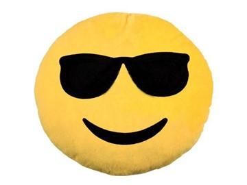 Emoji-Con - Kissen - Cool