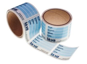 Etiketten für Vakuumbeutel