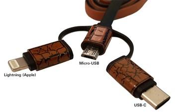 USB Ladekabel - 3 in 1 - High Speed