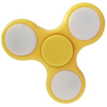 Hand-Spinner, Gelb, LED