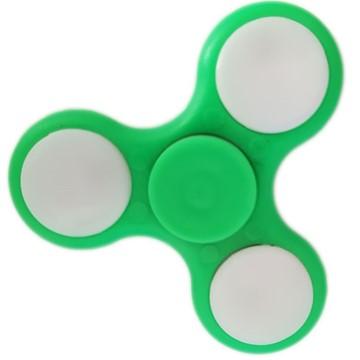 Hand-Spinner, Grün, LED