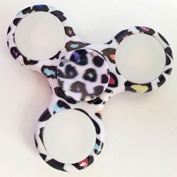 Hand-Spinner, Leopard, LED