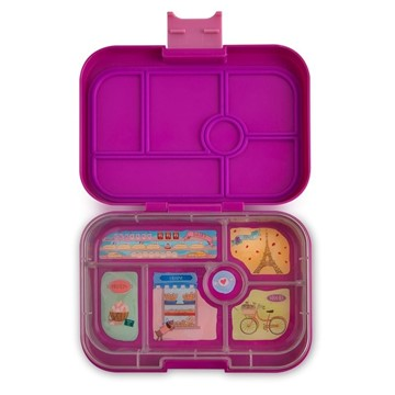 Yumbox Original Bijoux Purple - 6 Fächer