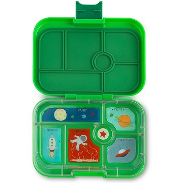 Yumbox Original Terra Green - 6 Fächer