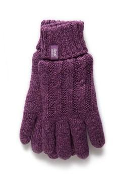 Heat Holders - Ladies Gloves Purple S/M