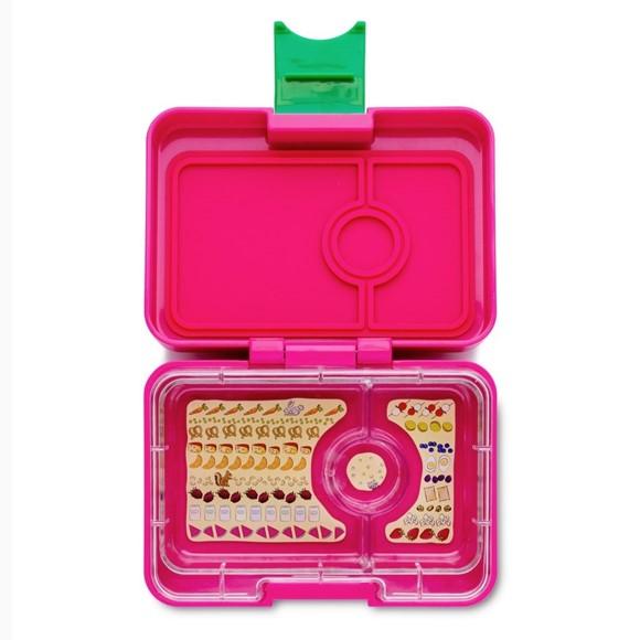 Yumbox Mini Cherry Pink - 3 Fächer