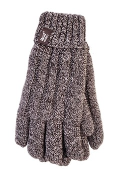 Heat Holders - Ladies Gloves Fawn M/L