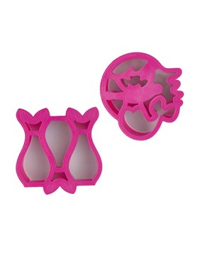 Lunch Punch Sandwich Cutter - Pairs Mermaid