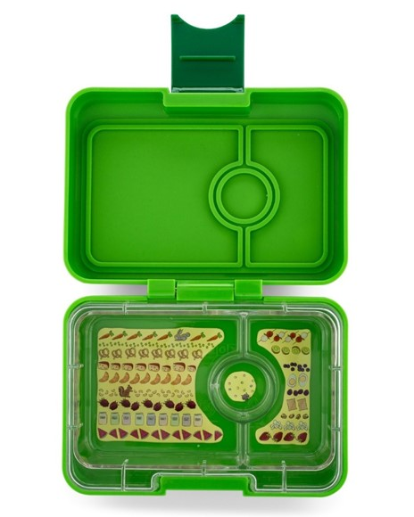 Yumbox Mini Snack Avocado Green - 3 Fächer