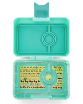 Yumbox Mini Snack Surf Green - 3 Fächer