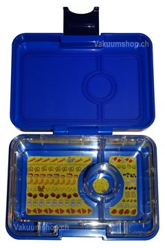 Yumbox Mini Snack Neptune Blue - 3 Fächer