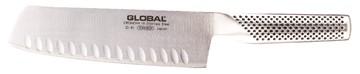G-81 - Gemüsemesser (Chopmesser) mit Kullenschliff - GLOBAL