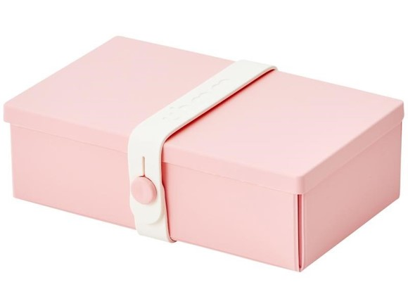 Uhmm Box Lunchbox No. 01 Pink/Weiss