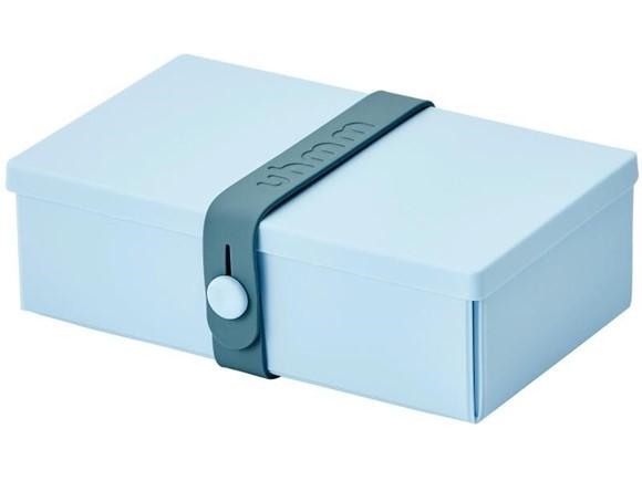 Uhmm Box Lunchbox No. 01 Hellblau/Petrol