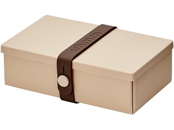 Uhmm Box Lunchbox No. 01 Mocca/Braun
