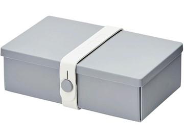 Uhmm Box Lunchbox No. 01 Grau/Weiss