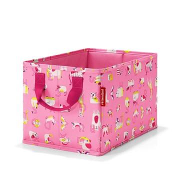 Reisenthel Aufbewahrungsbox Storagebox Kids ABC Friends Pink