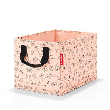 Reisenthel Aufbewahrungsbox Storagebox Kids Cats and Dogs Rosa